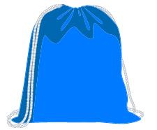Full laundry bag animated image